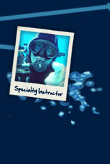 PADI Speciality Instructor training
