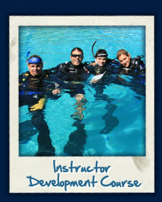 PADI IDC training