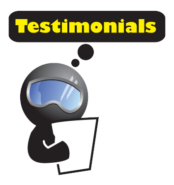 Testimonals page Pro Dive Mexico